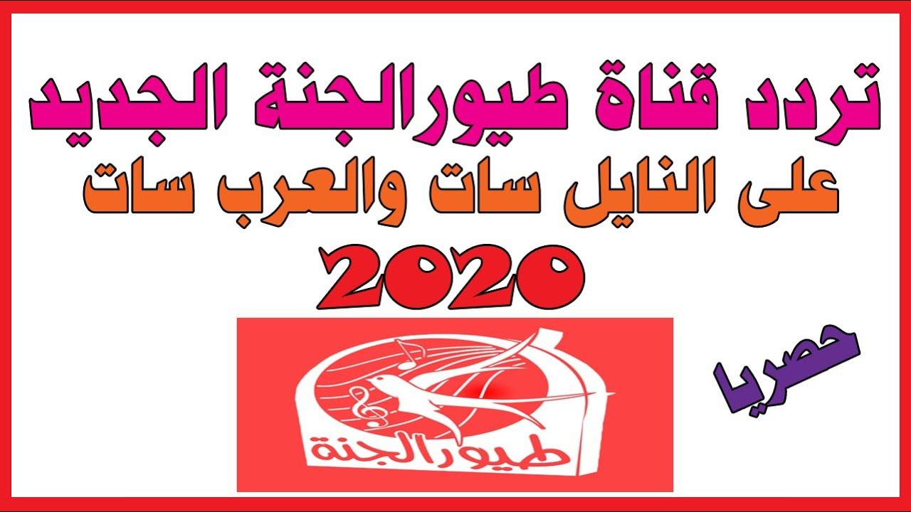 تردد قناة طيور الجنه الجديده 2020 الموقع المثالي