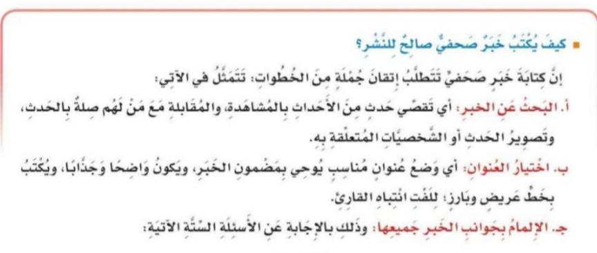 كيف يكتب خبر صحفي صالح للنشر الخبر الصحفي الموقع المثالي